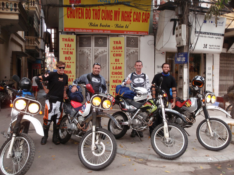 Mr. Mitch Andrew (Australia). Vietnam Motorbike Motorcycle Tours - Customer Feedback.