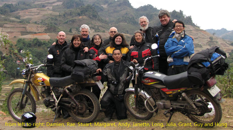 Ms. Julia Kearton (Australia). Vietnam Motorbike Motorcycle Tours - Customer Feedback.