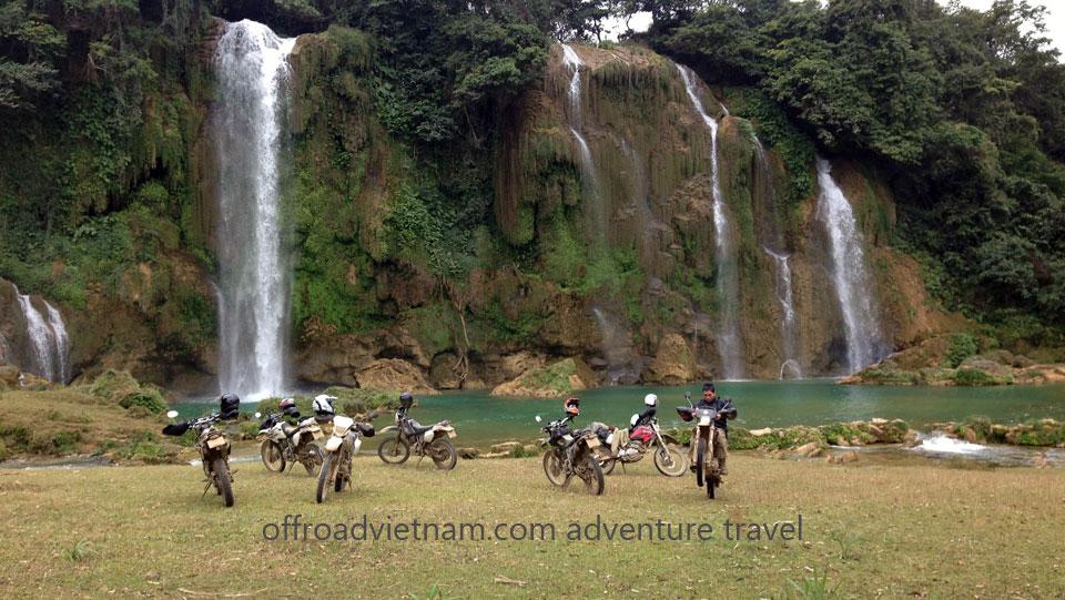 Vietnam Motorbike Motorcycle Tours - Northeast Vietnam Motorbike Tour: Northeast Vietnam motorcycle tour, Ban Gioc dirt bike tour