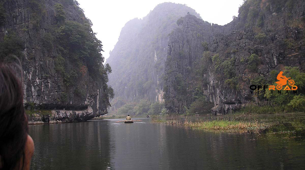 Vietnam Motorbike Motorcycle Tours - Day Tour Around Hanoi By Motorbike. Hoa Lu, Bai Dinh & Tam Coc (Dry Halong Bay) 1 day tour on motorbikes or scooters