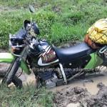 Extreme dirt biking in Mai Chau, Hoa Binh, Vietnam