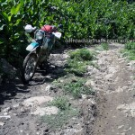 Local track only used by locals, only dirt bikes are recommended