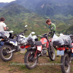 Nghia Lo mountain views on a Northwest Vietnam motorbike tour