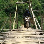Vietnam off-road motorbiking in Northeast areas